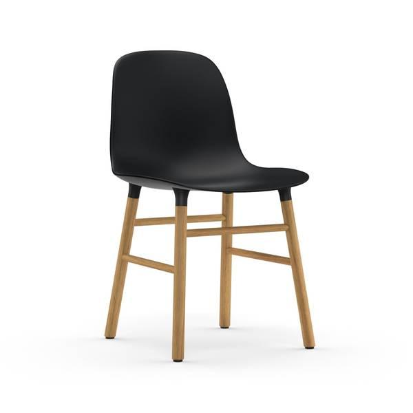 Bilde av Form Chair Oak - Black