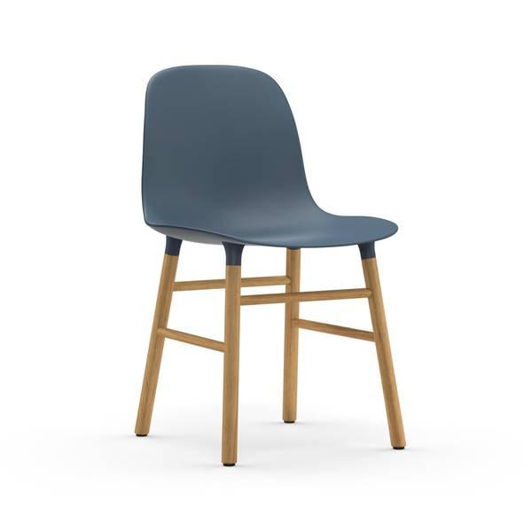 Bilde av Form Chair Oak - Blue