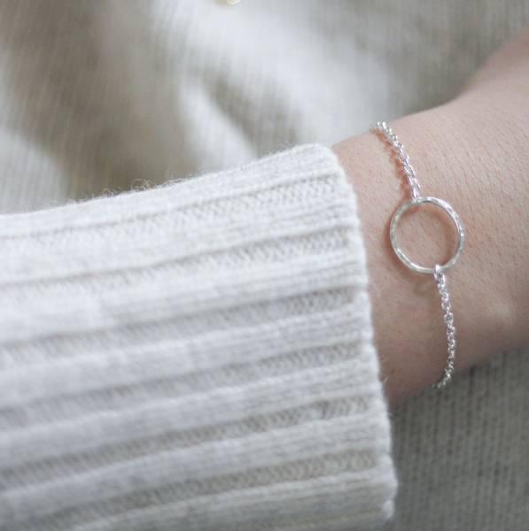 Bilde av Kvist, armbånd sølv