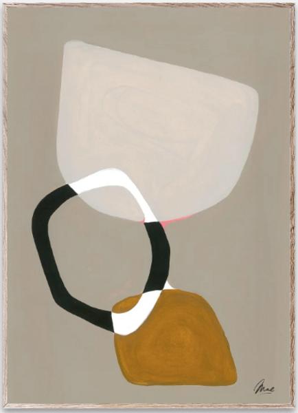 Bilde av Composition 03 - 50 x  70 cm