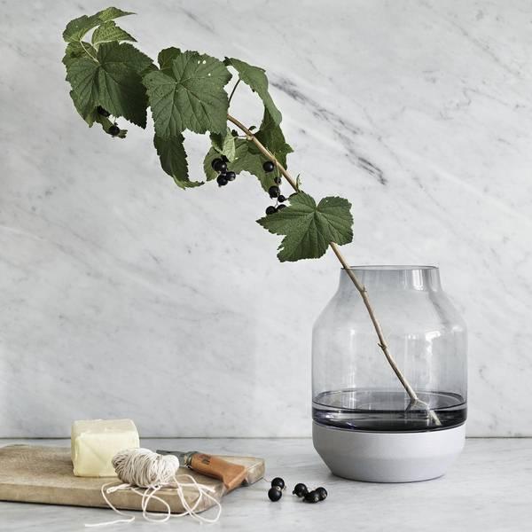 Bilde av Muuto Elevated Vase - Grå/Grønn