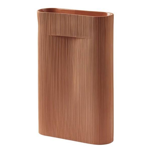 Bilde av Muuto Ridge Vase Small - Terracotta