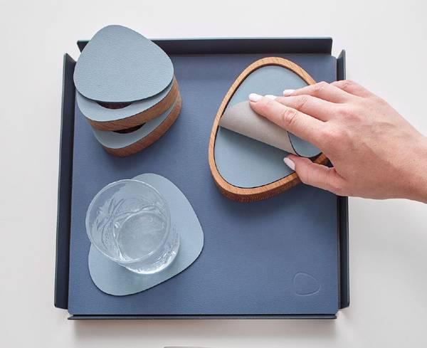 Bilde av LindDna Glass Mat Curve - Dobbeltsidig