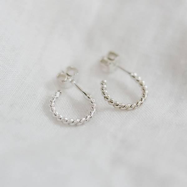 Bilde av Spire, Creoler små sølv