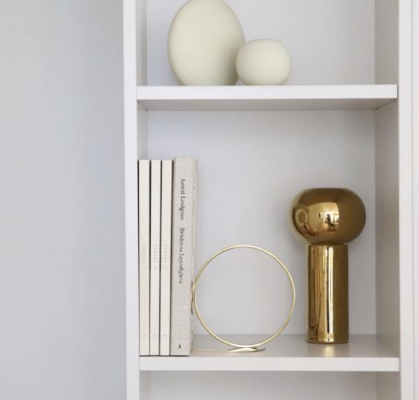 Bilde av Pillar Vase 24 cm - Gold